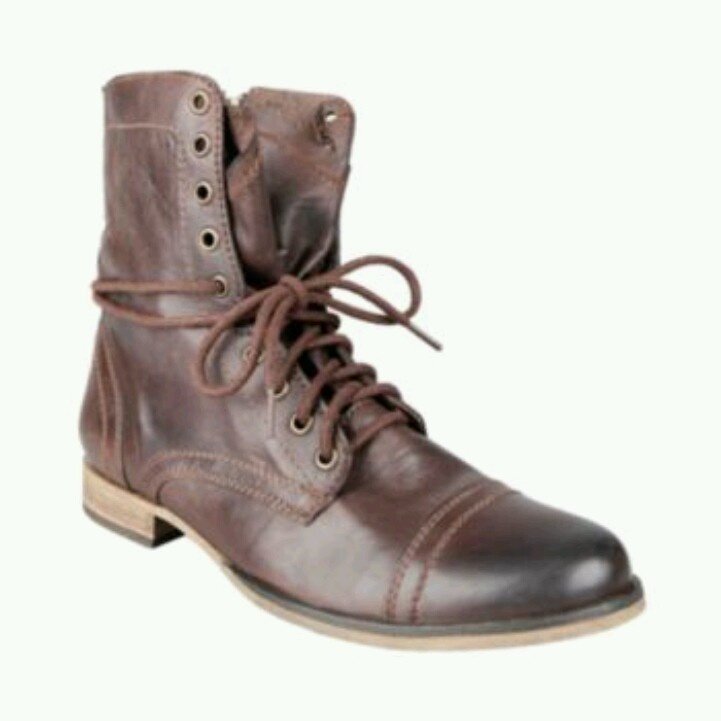 Steve Madden men's Troopa Combat Boot