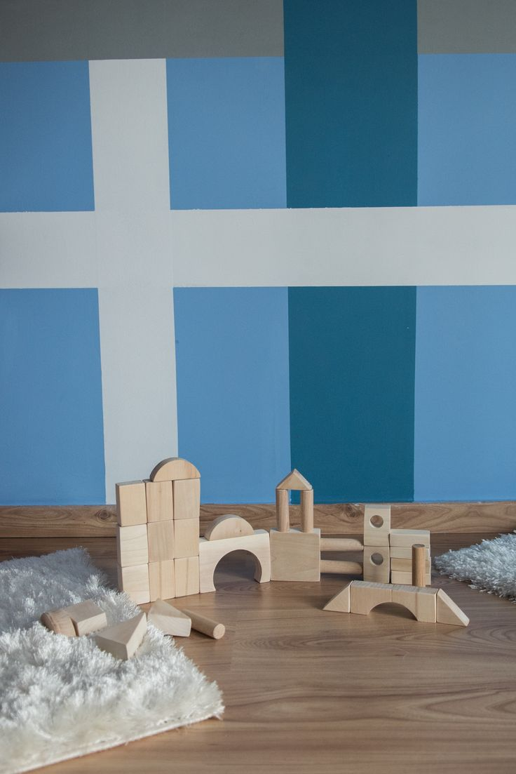 EcoFriendly Blocks - Montessori Toddler Wooden Toy