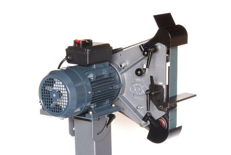 Bandschleifmaschine Radiusmaster >> Schmiedetechnik >> Produkte : Angele Schmiedetechnik