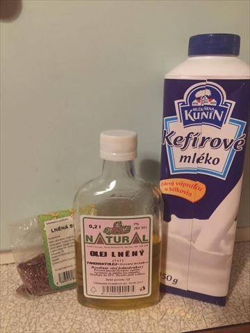Obrázek z Recept - Očista střev - lněné semínko a kefír