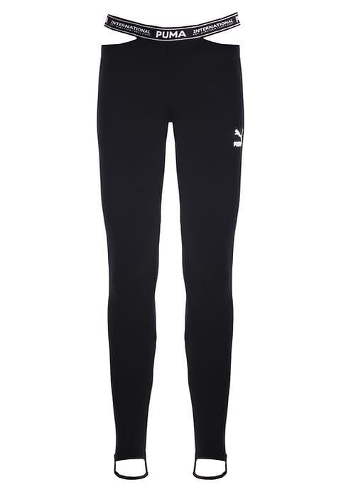 PUMA STREET - Leggings black Women Clothing Trousers & Shorts