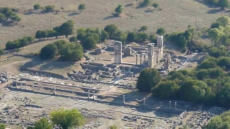 HD capture of the ancient city of Philippoi, Macedonia, Greece.
