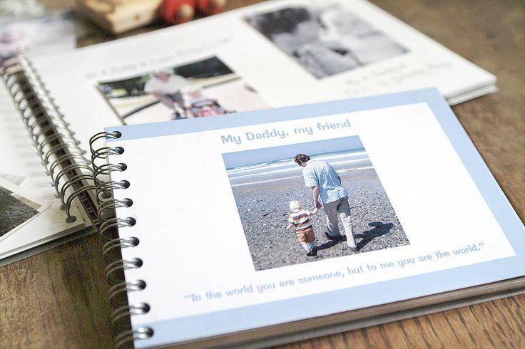 personalised dad album by amanda hancocks | notonthehighstreet.com