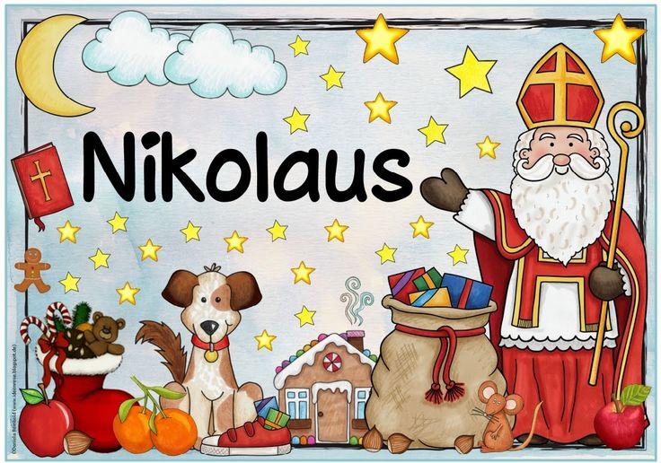 """Ideenreise: Plakat """"Nikolaus"""""""