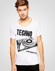 Techno Nothing Sounds Better T-shirt
