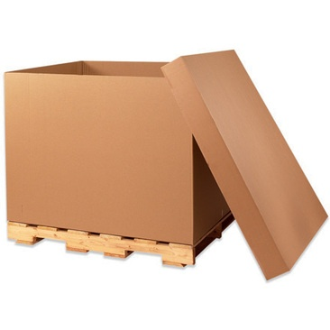 Bulk Container cargo boxes, watermelon boxes, bins, container, fiberboard boxes, gaylord boxes, telescoping boxes, boxes on pallets