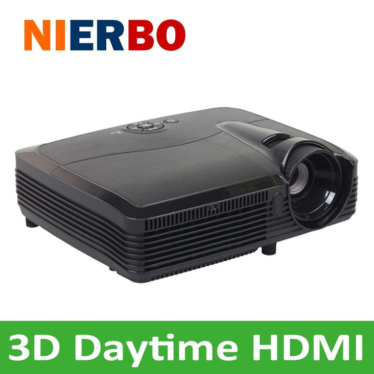 Newest 3D Projector 7500 Lumens HD Beamer Proyector Proektor Home Theater Portable Projectors HDMI USB AV SD //Price: $712.41//     #shop