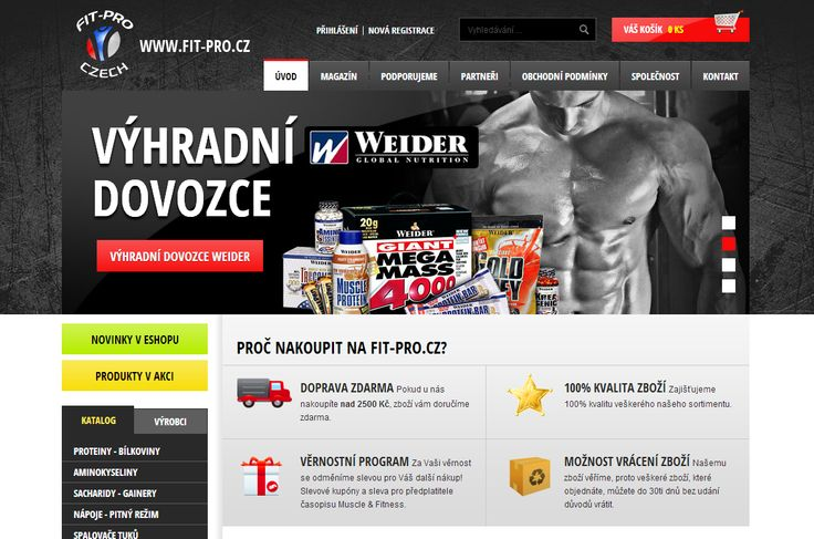 Redesign FIT PRO Czech
