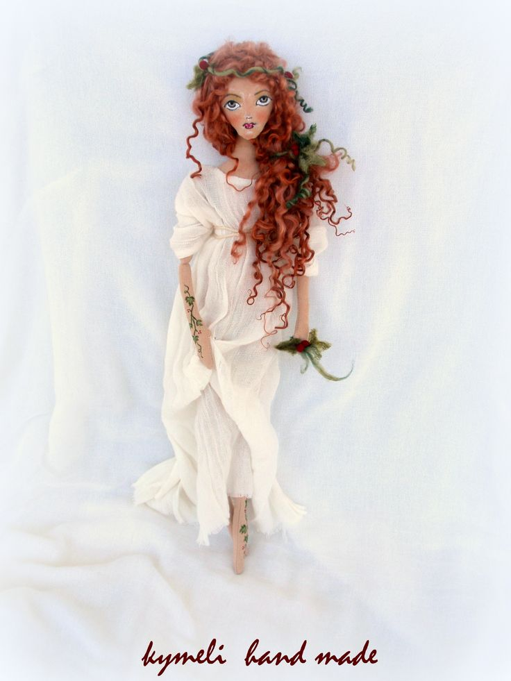 Nymph Arethousa OOAK Art Doll   by kymeli