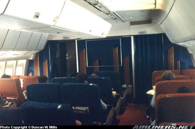 Panam Lockheed L 1011 385 3 Tristar 500 First Class 1981