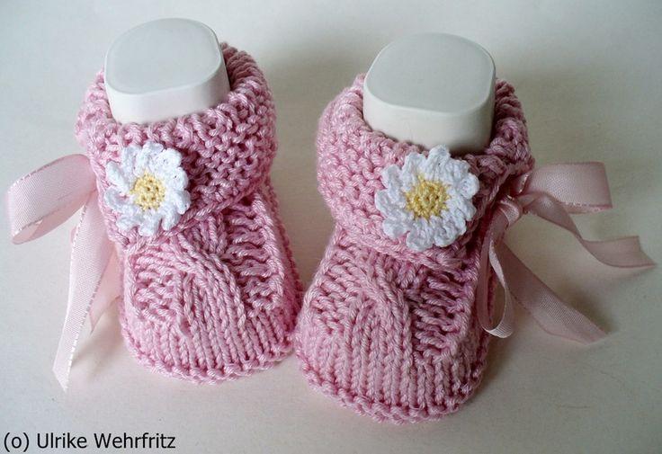 MaiTräume Babyschuhe von stricklienes lädchen auf DaWanda.com