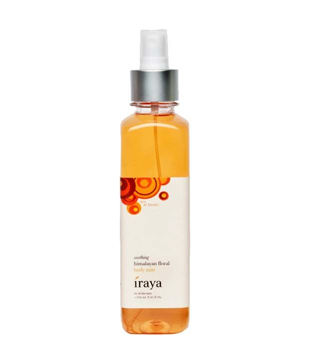 Iraya Himalayan Floral Body Mist 250 ml, http://www.snapdeal.com/product/iraya-himalayan-floral-body-mist/1487847