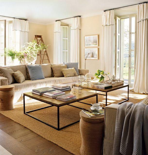 D 233 Cor De Provence Living Room Neutrals With Blue Grey Accents House Goodies Pinterest