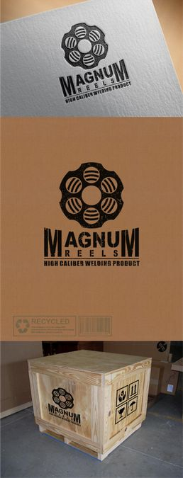 Create a vintage Magnum logo and brand identity for a welding accessories company. by zammax
