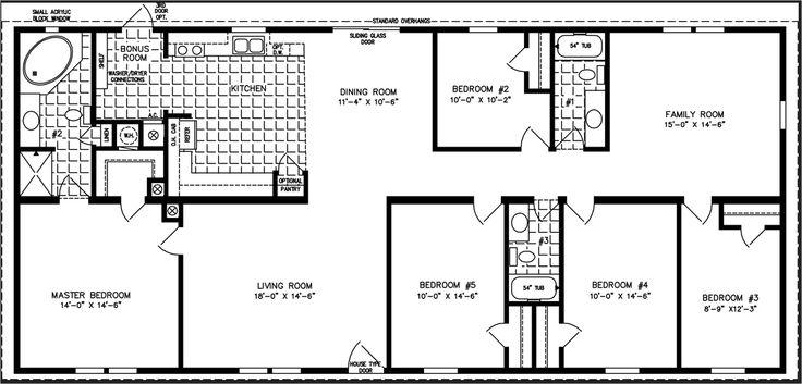 bedroom. 5 Bedroom Manufactured Homes five bedrooms  wide manufactured