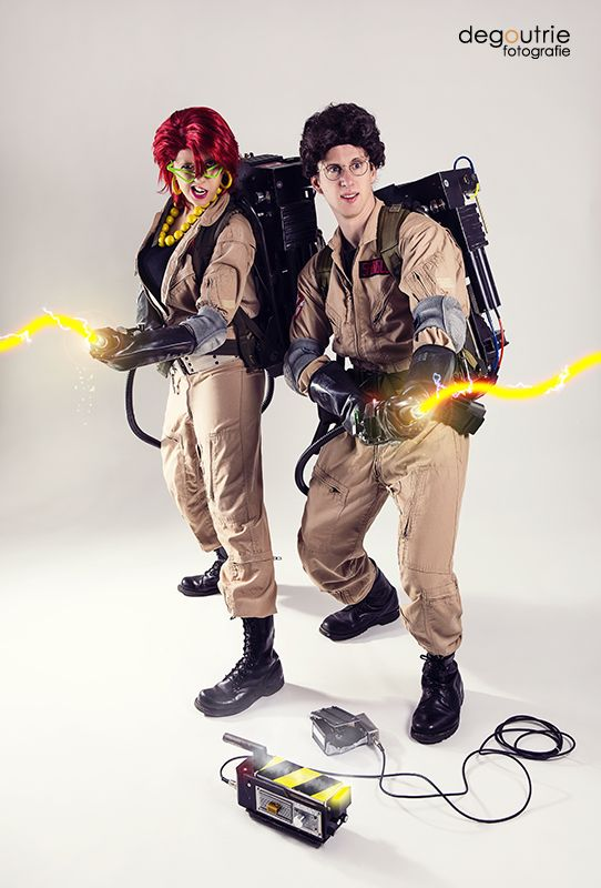 Ghostbusters - Janine Melnitz and Egon Spengler by kathy1602 on DeviantArt