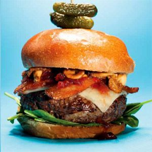 Ultimate moose burger