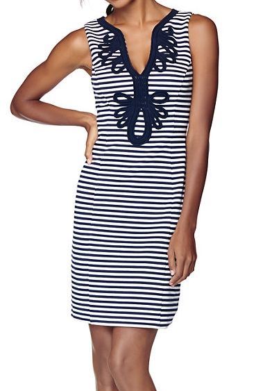 Lilly Pulitzer Janice Knit Shift Dress- dress up or down