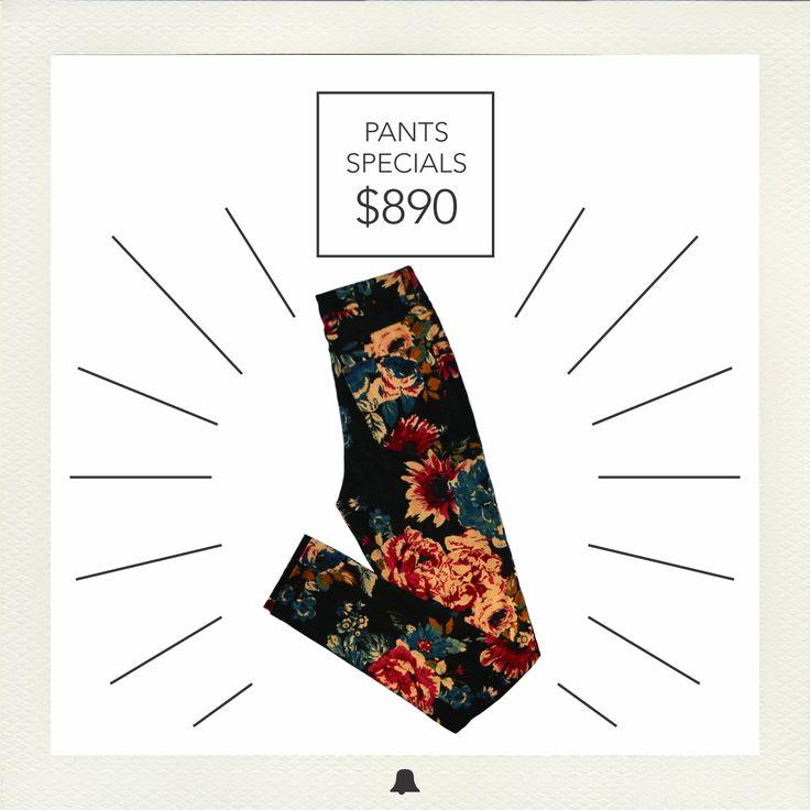 """** ESPECIAL DE PANTALONES ** ¡Comenzamos con la """"Semana de los Pantalones""""!   Pantalón de Pana Floreado - PTBELL18  Encontrá nuestros pantalones por tiempo limitado a precios únicos. Te esperamos en nuestros locales =)"""
