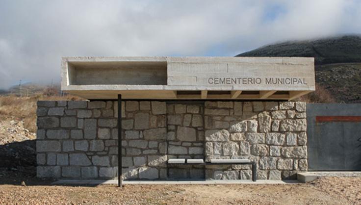 Adecuación de acceso y columbario en Cementerio de Robregordo (Madrid, España) - Muka Arquitectura