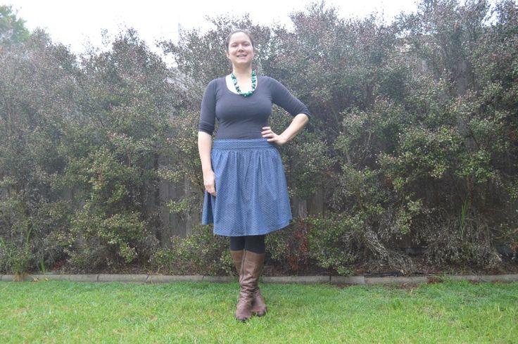 Brumby Skirt Megan Nielsen