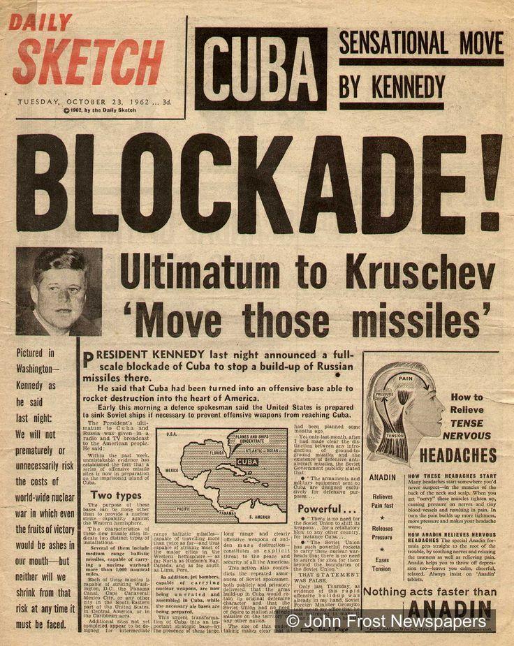 les 76 meilleures images du tableau cuban missile crisis sur pinterest histoire d 39 am rique. Black Bedroom Furniture Sets. Home Design Ideas