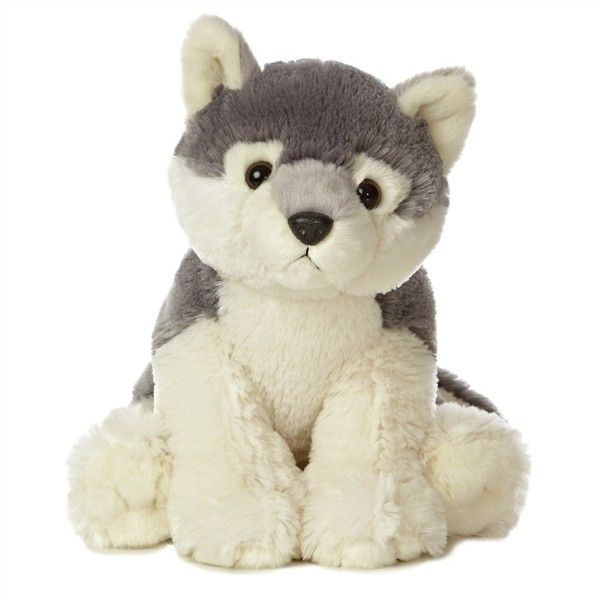 Wolf Stuffed Animal Plush Large Jumbo ❤ liked on Polyvore featuring stuffed animals, accessories, baby, other and teddies