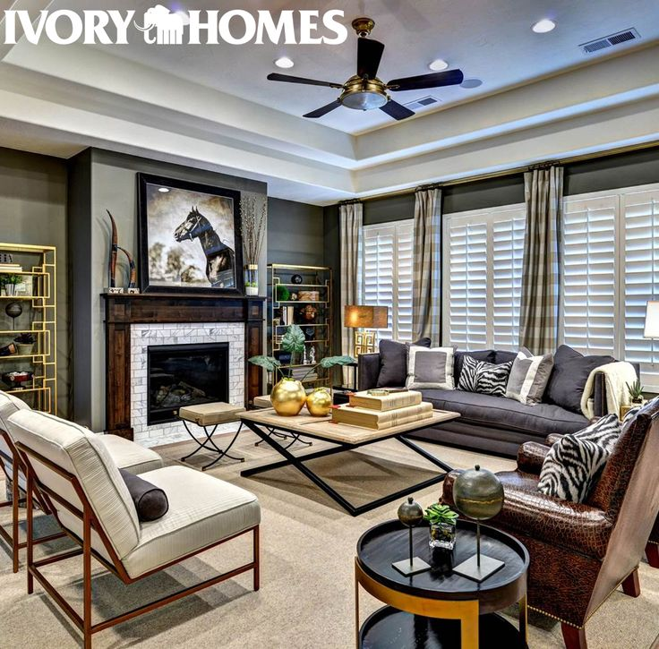 Family Rooms We Love: 17 Best Images About Ivory Homes Living Rooms On Pinterest