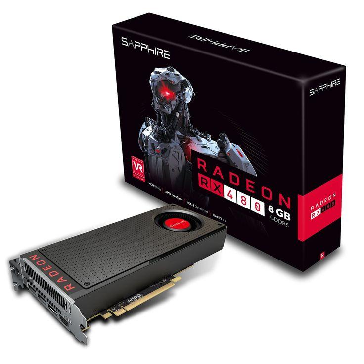 Sapphire 21260-00-20G Carte Graphique AMD Radeon RX 480