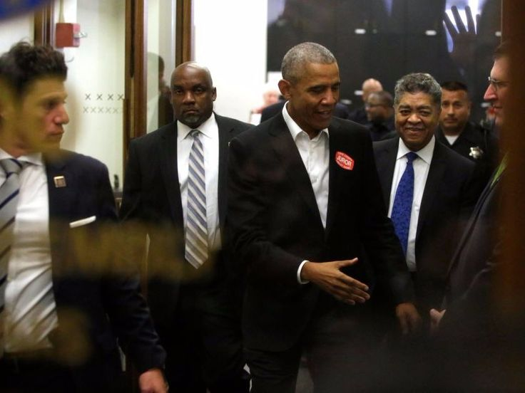 Obama has adopted a new uniform  and it clearly shows his post-White House intentions