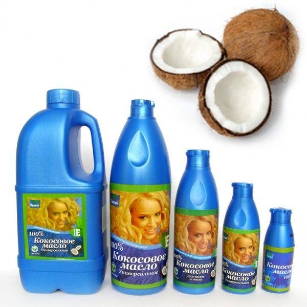 Кокосовое масло для волос и тела Parashute, 100 мл