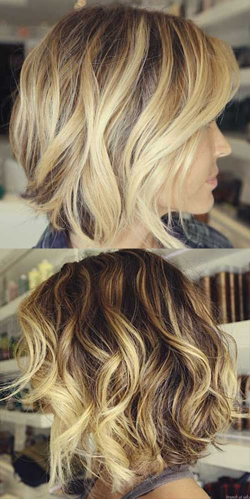 25+ best ideas about Highlighted Bob on Pinterest   Blonde ...
