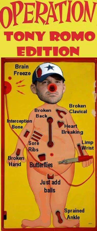 Broken Romo……….Romona