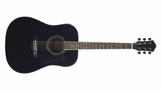 Aria AWN 15C Black Acoustic Guitar @ 8000. PRODIGY Series: Cutaway & Acoustic guitar
