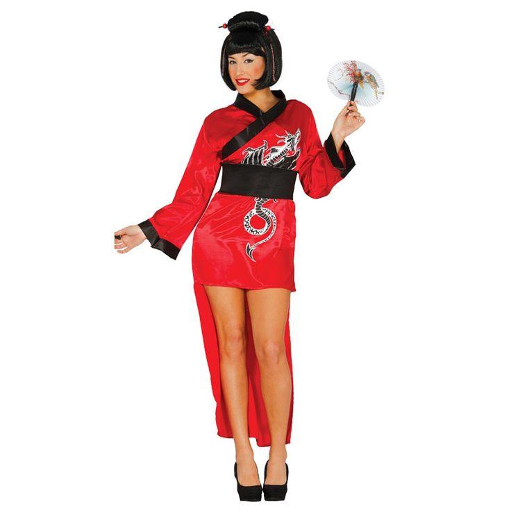 Disfraz de Japonesa Sexy #carnaval #novedades2016