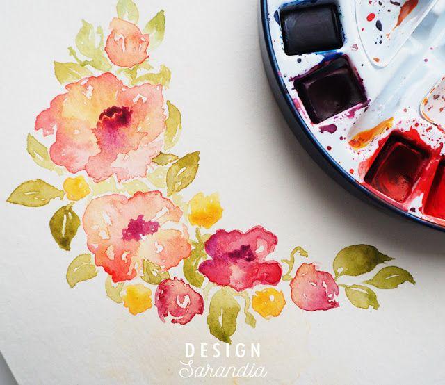 Love in watercolor Coming soon! <3