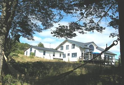 The Lodge, Puerto Nativo Lodge    Carmen and Marco Ancaras chose this spot on the island of Chiloe in northern Patagonia especially to set up their dream home, and it isn't difficult to see why. Overlooking one of the Estero Paildad - or 'interior sea' - bays,