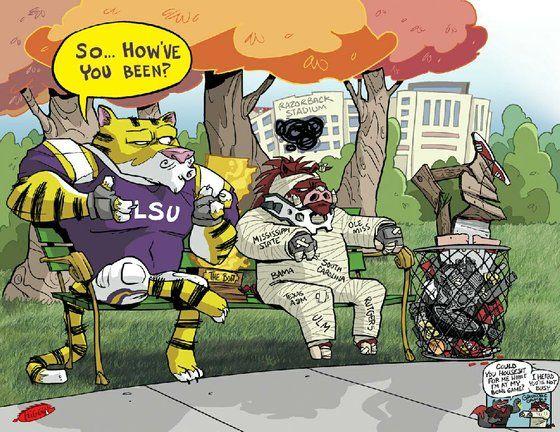LSU Vs. Arkansas 2013 |