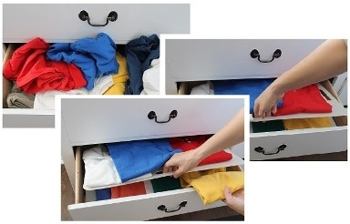 Helping you to easily find your clothes all while keeping organized!