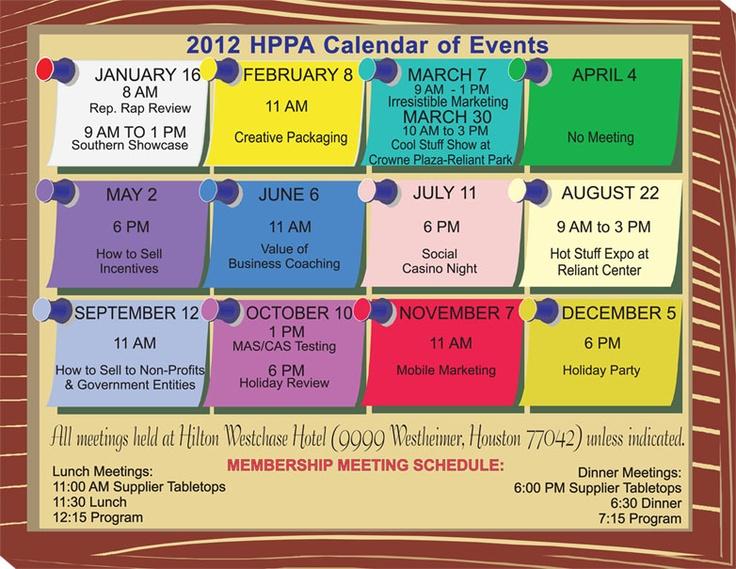 Calendar Of Events Design : Calendar of events design ideas work pinterest