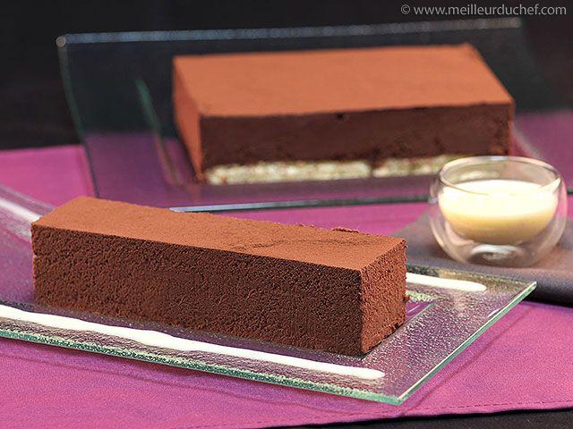 Fondant au chocolat noir - Meilleur du Chef