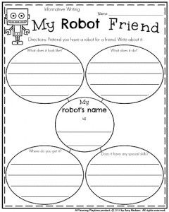 Spring Writing Prompts for First Grade - Planning Playtime