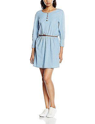 X-Large, light denim, alife & kickin Women's Scarlett Dress, Womens, Kleid Scarl