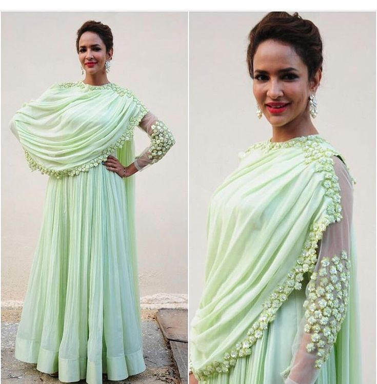 Ridhi Mehra # draped love # pastel love # Indian fashion