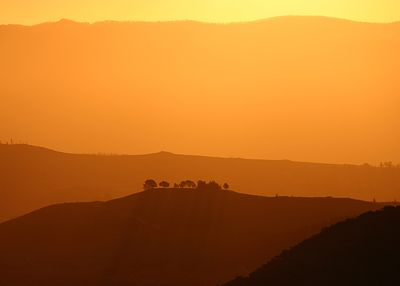 Mt Ainslie sunset - Canberra - Australia