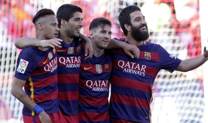 Uruguayo Suárez le da al Barcelona el segundo título consecutivo en la liga española | Radio Panamericana