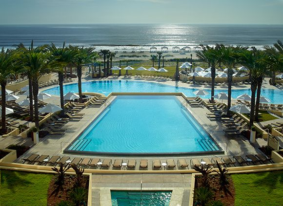 Parents Magazine ranks Amelia Island, Florida as the #6 beach vacation for families. Set on 3.5 miles of shoreline, The Omni Amelia Island Plantation Resort just reopened after an $85 million renovation.  The resort offers a kids' water playground, a nature center, and three golf courses.