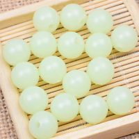 Hot Sale 100Pcs Round Luminous Glow Beads 6/8/10mm Crafts Jewelry Finding DIY