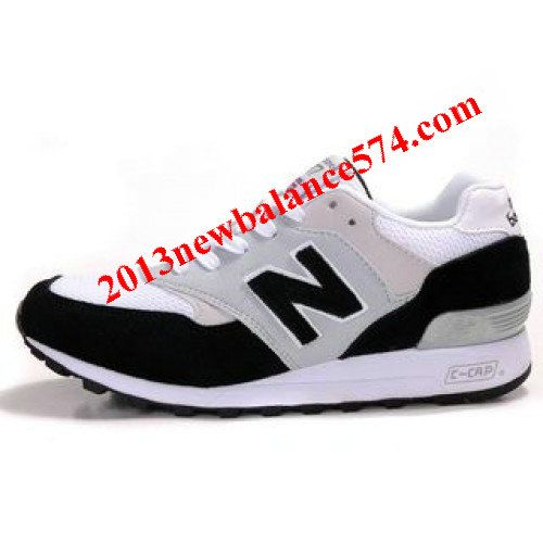 New Balance M577BWG Black Lightgrey White Black Shoes,Half Off New Balance  Shoes 2013 Cheap