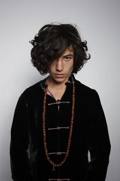 Ezra Miller-how can your heart not stop with that eye ball?